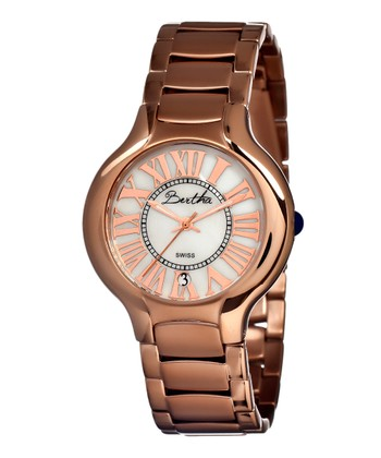 Rose Gold & Pink Maude Watch