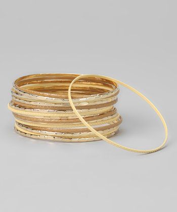 Natural St. Tropez Bangles Set