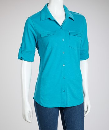 South Pacific Short-Sleeve Button-Up