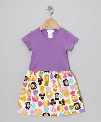 Purple Sweet Princess Dress - Infant, Toddler & Girls