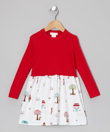 Red Little Red Riding Hood Dress - Infant, Toddler & Girls