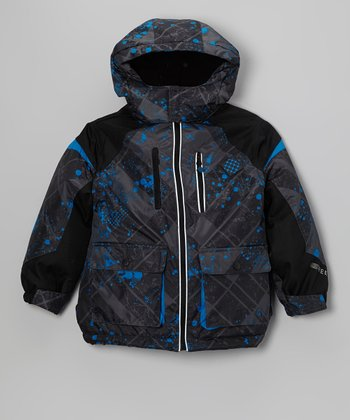 Blue 3-in-1 Fleece-Lined Coat - Kids