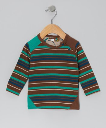 Espresso Stripe Tee - Infant, Toddler & Boys