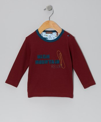 Maroon 'High Mountain' Tee - Infant, Toddler & Boys