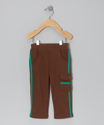 Espresso Terry Pants - Infant