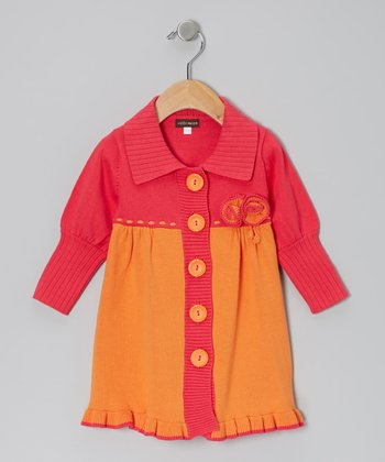 Persimmon Sweater Dress - Infant & Girls