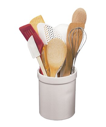 White Utensil Caddy
