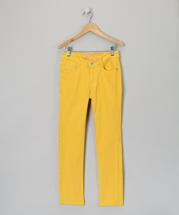 Turmeric Skinny Pants - Girls