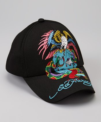 Black Eagle Skull & Snake Baseball Cap