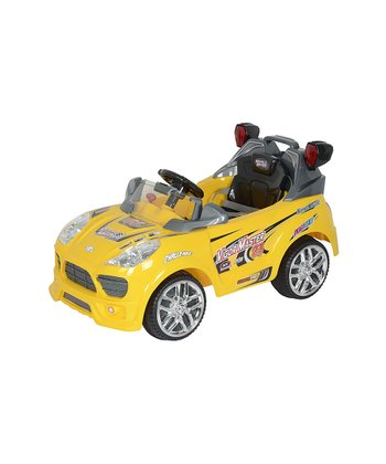 Yellow Master SUV Ride-On