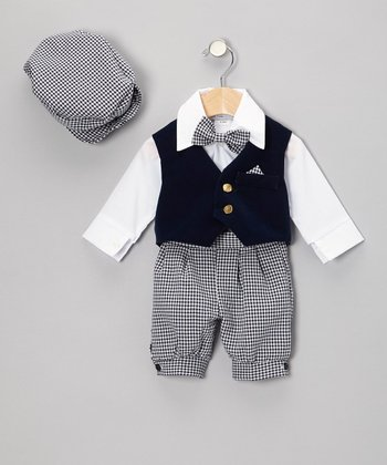Navy & Blue Knickers Set - Infant