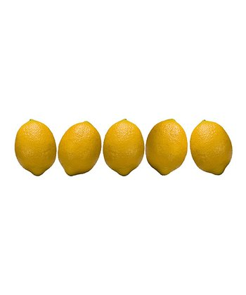 Lemon Figurine - Set of Five