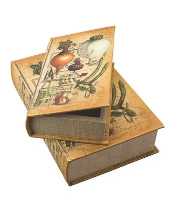 Vegetables Book Box Set