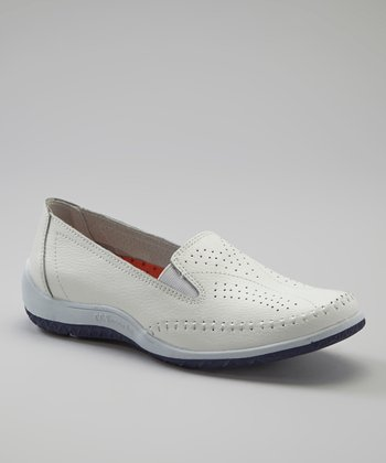 White Snoopy Slip-On Shoe