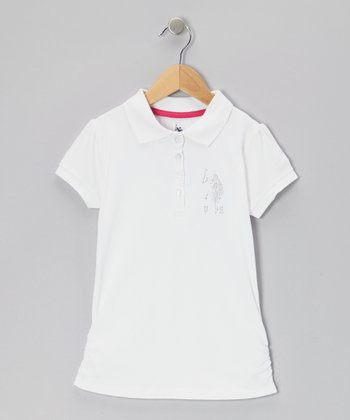 White Polo - Girls