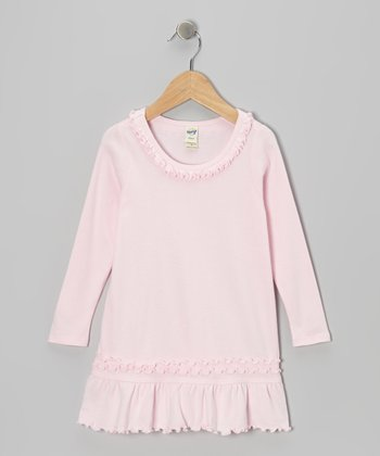Baby Pink Sunflower Dress - Toddler & Girls