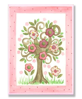 Floral Tree Wall Art
