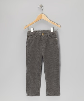 Olive Corduroy Pants - Toddler & Boys