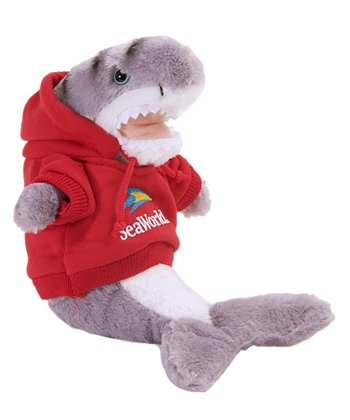 Red Hoodie Tiger Shark Plush Toy