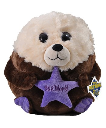 6'' Bubble Zooz Sea Otter Plush Toy