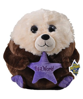 9'' Bubble Zooz Sea Otter Plush Toy
