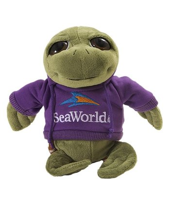 Purple Hoodie Sea Turtle Plush Toy