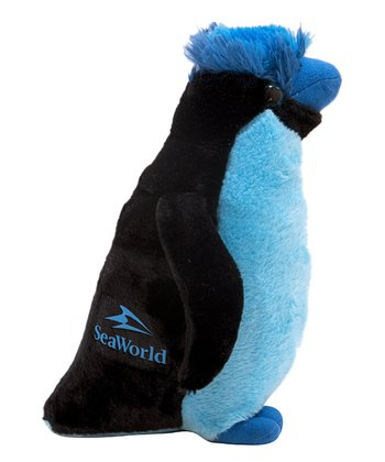 Blue Rockhopper Penguin Plush Toy