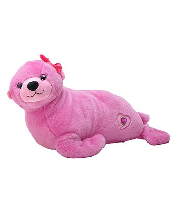 Pink Posh Sea Lion Plush Toy