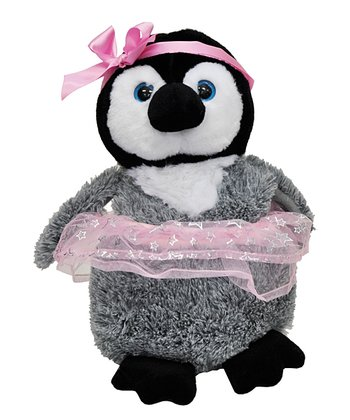 Ballerina Penguin Plush Toy