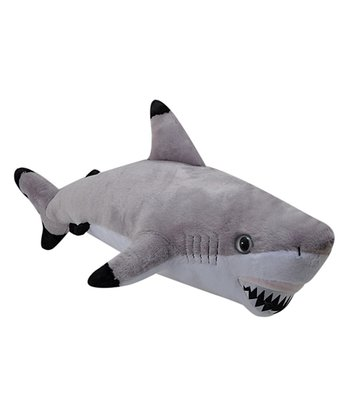 14'' Black Tip Shark Plush Toy