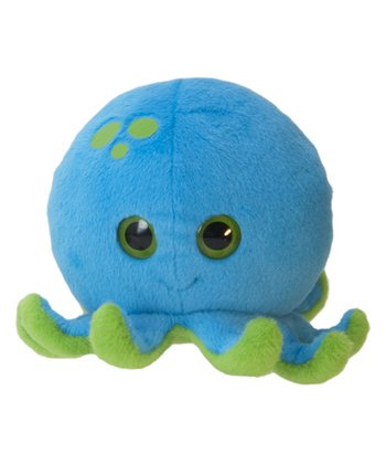6'' Bubble Zooz Octopus Plush Toy