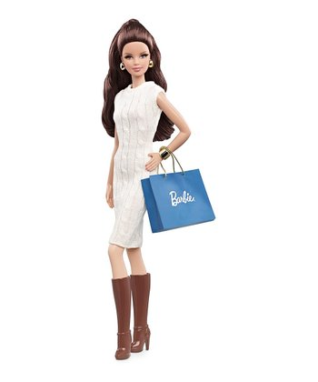 Dark-Haired City Shopper Barbie Doll