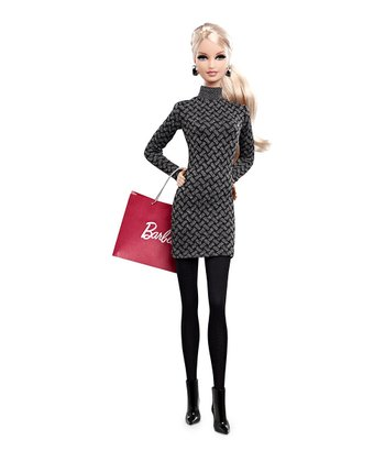 Blonde-Haired City Shopper Barbie Doll