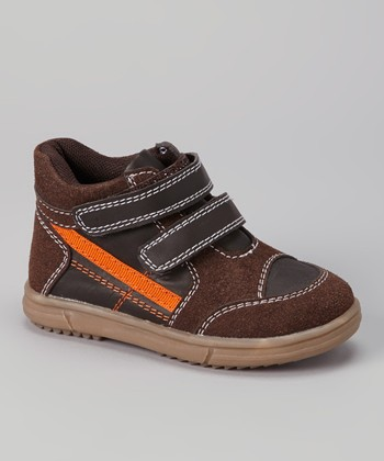 Brown Hi-Top Sneaker