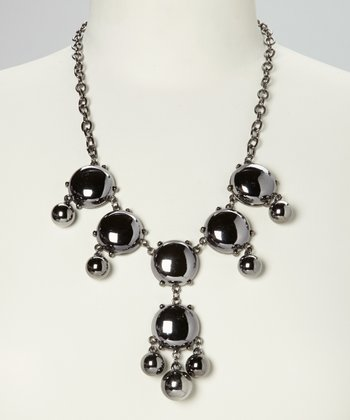 Onyx Mod Dot Necklace
