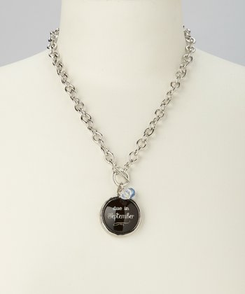 'Due in September' Charm Necklace