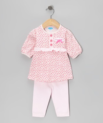 Pink Leopard Tunic & Leggings - Infant
