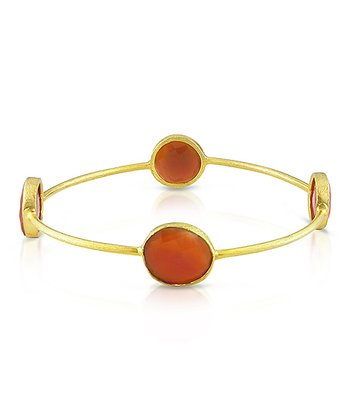 Red & Yellow Gold Bangle
