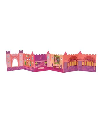 Pink Folding Princess Castle