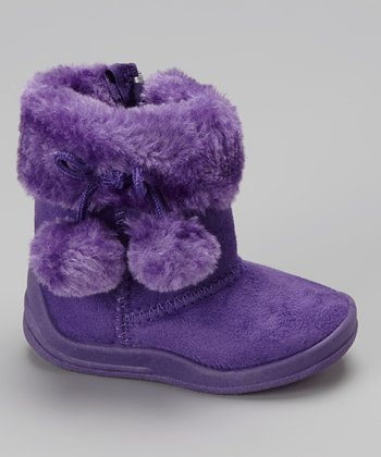 Purple Cutie Baby Boot
