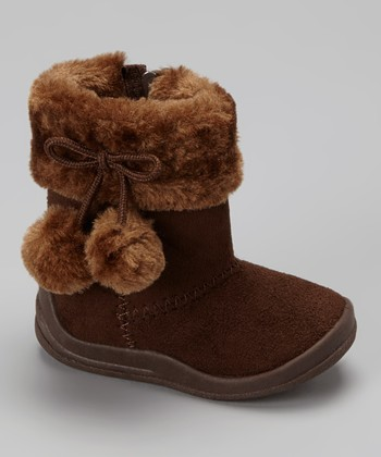 Brown Cutie Baby Boot