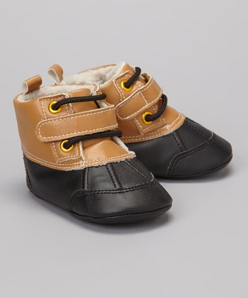 Camel & Black Duck Boot