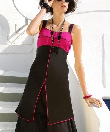 Pink & Black Tunic