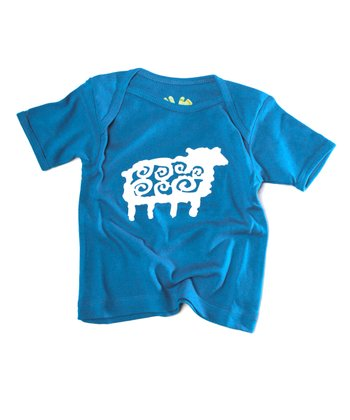 Fiji Blue Sheep Organic Tee - Infant