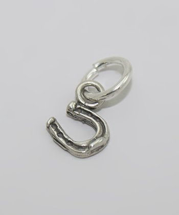 Sterling Silver Tiny Horseshoe Charm