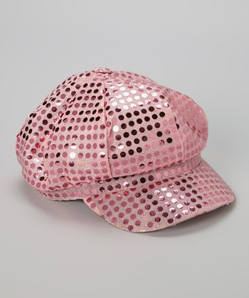 Pink Sequin Diva Hat