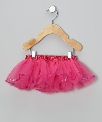 Hot Pink Sequin Tutu - Infant