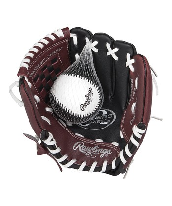 Players Series 9'' T-Ball Glove & Ball - Kids