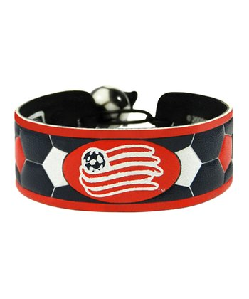 New England Revolution Team Color Soccer Bracelet
