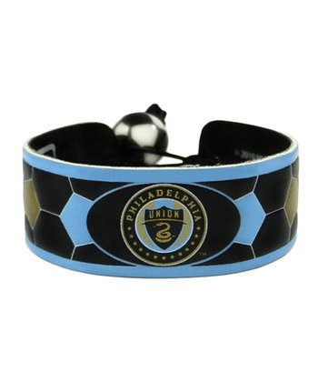 Philadelphia Union Team Color Soccer Bracelet